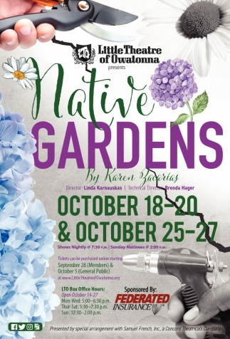 Native Gardens by Karen Zacarias