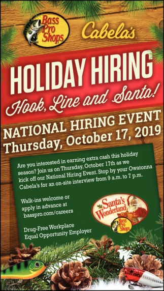 National Hiring Event, October 17