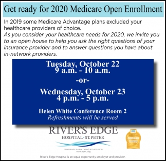 Get Ready for 2020 Medicare Open Enrollment