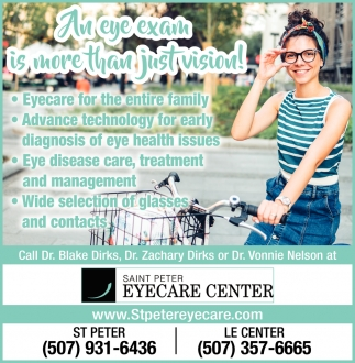An eye exam is more than just vision!