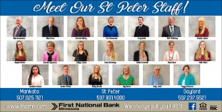 Meet Our St Peter Staff!