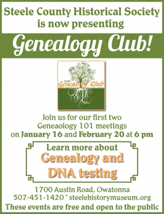 Presenting Genealogy Club!