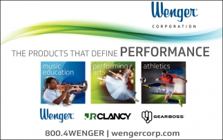 The products that define Performance
