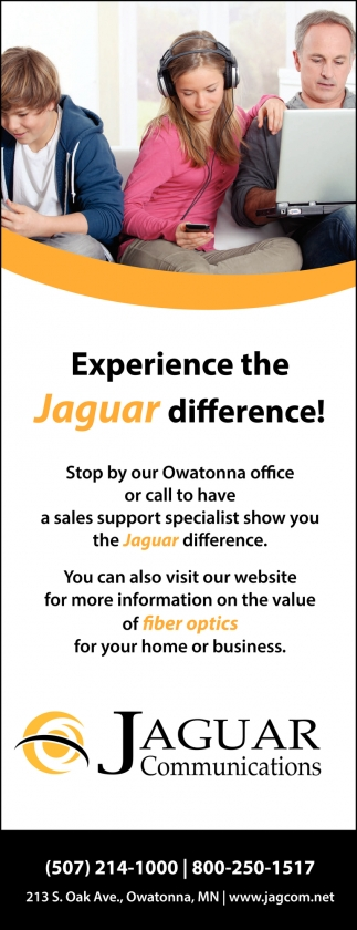 Experience the Jaguar difference!