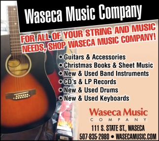 For all Of Your String And Music Needs