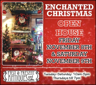 Enchanted Christmas - Open House November 8th