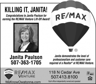 Killing It, Janita!