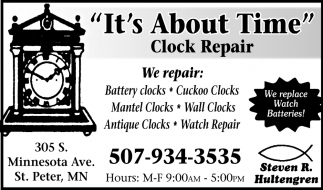 We Replace Watch Batteries!