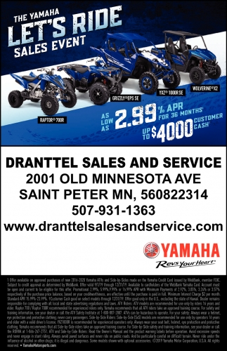 The Yamaha Sales Event - Let's Ride