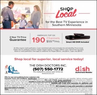 Shop local for the Best TV Experience in Southern Minnesota