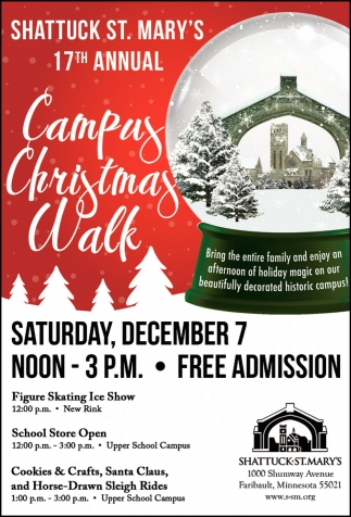 17th Annual Campus Christmas Walk