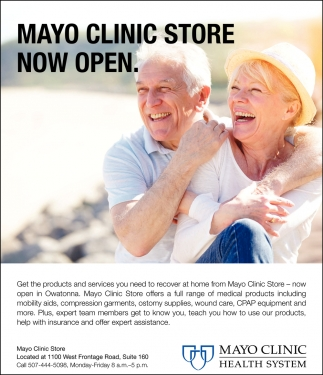 Mayo Clinic Store Now Open