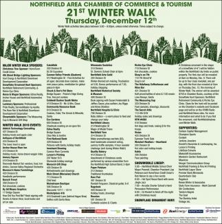 21st. Winter Walk