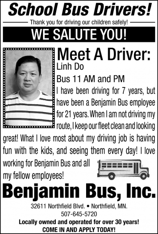 Meet The Drivers: Linh Do