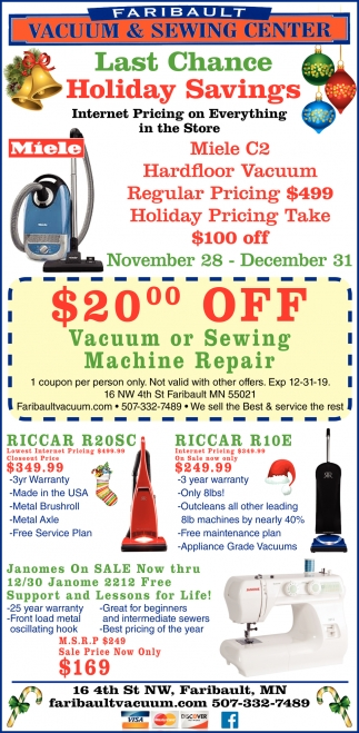 Last Chance Holiday Savings