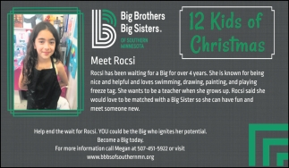 12 Kids of Christmas - Meet Rocsi