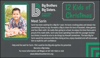 12 Kids of Christmas - Meet Sorin