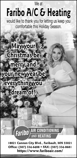 May your Christmas be merry and your new year be everything you dream of!
