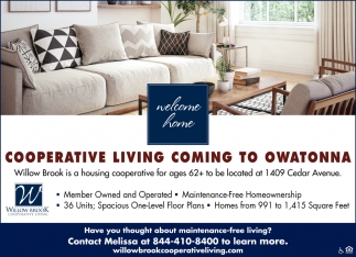 Cooperative Living Coming To Owatonna