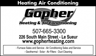 Furnace Sales and Service - Air Conditioning Sales and Service