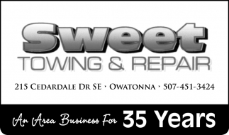 An Area Business For 35 Years