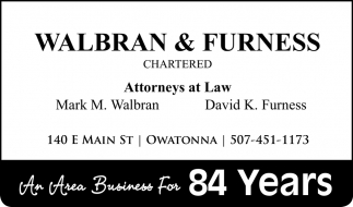 An Area Business For 84 Years