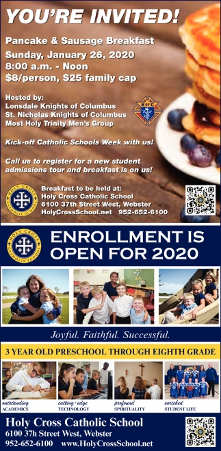 Enrollment Is open 2020