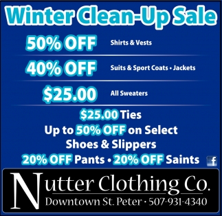 Winter Clean-Up Sale