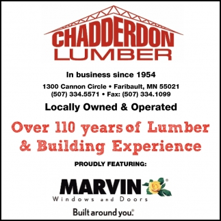 Over 110 years of Lumber & Building Experience
