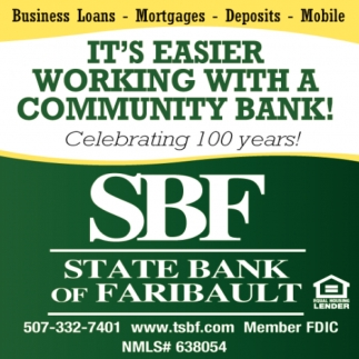 It's Easier working with a community bank