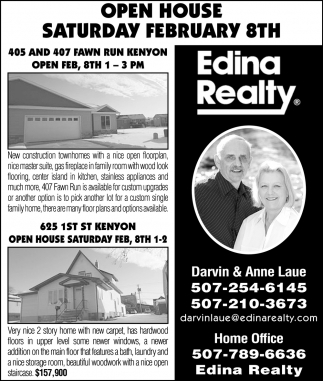 Open House - February 8th