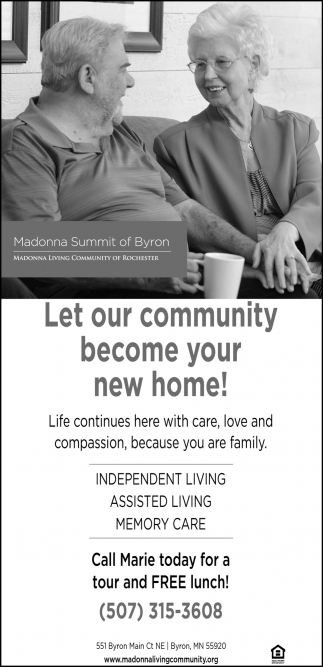 Let our community become your new home!