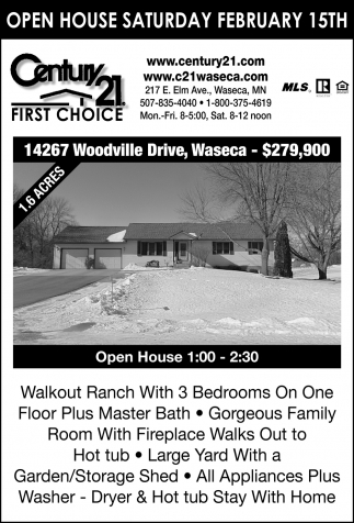 Open House - February 15th