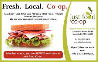 Fresh. Local. Co-op