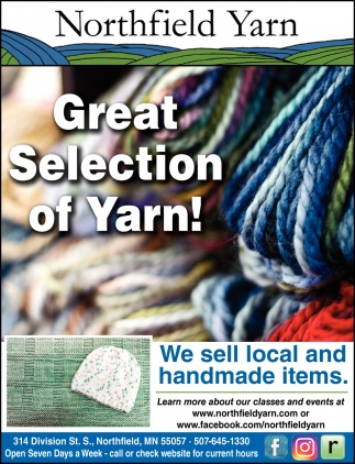 Great Selection of Yarn!
