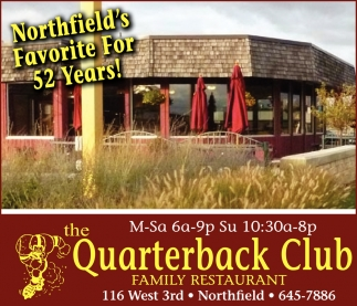 Northfield's Favorite For 52 Years!