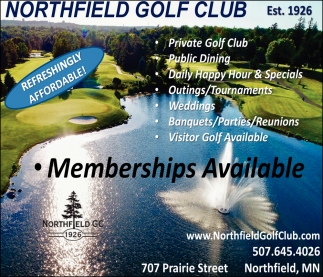 Memberships Available