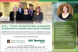 Still your hometown bankers