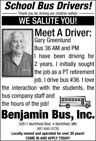 Meet The Drivers: Gary Greenlund