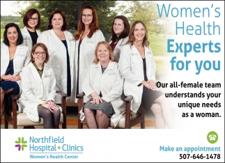 Women's Health Experts for you