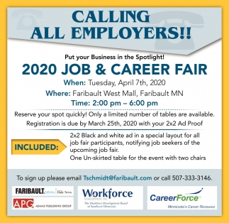 Calling all employers!