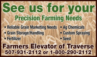See us for your Precision Farming Needs
