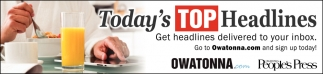 Today's Top Headlines