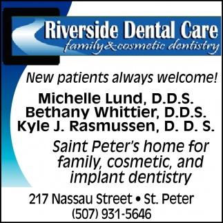 New Patients Always Welcome
