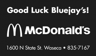 Good Luck Bluejay's
