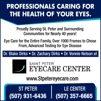 Professionals Caring For The Health Of Your Eyes