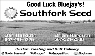 Good Luck Bluejay's!