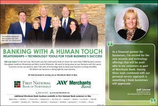 Banking with a Human Touch