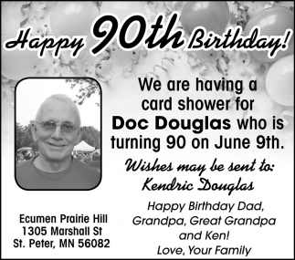 Happy 90th Birthday!