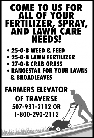 Come to Us for All Your Fertilizer